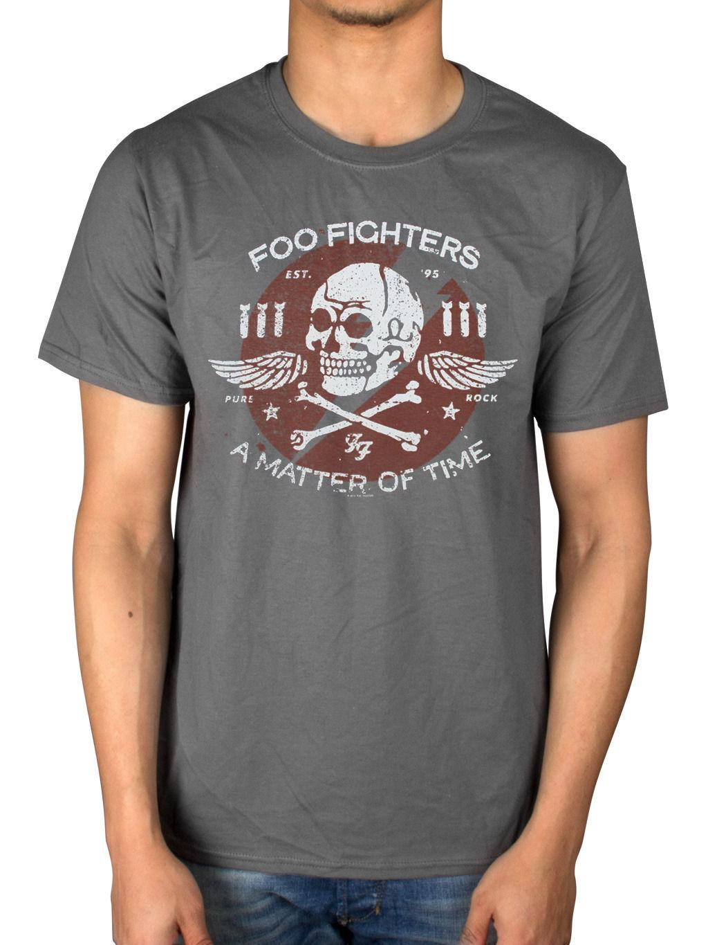 725f12502c07 Official Mens Foo Fighters Matter Of Time T Shirt Sonic Highways Wasting  Light S T Shirts Vintage T Shirts Sale From Brawtees, $11.01| DHgate.Com