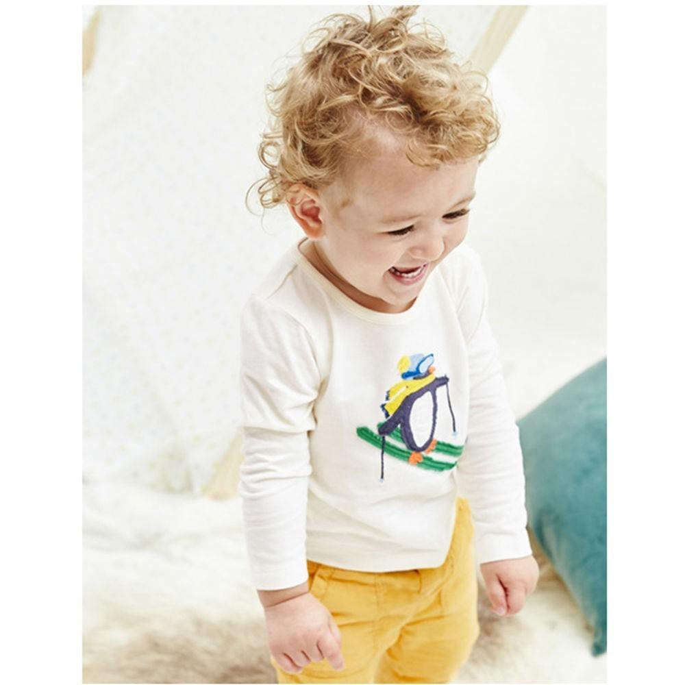 2b19e8269 2019 Jumping Meters Baby T Shirt Penguin Appliques Long Sleeve Fashion Boys  Tops 2018 Kid T Shirts New Autumn Cotton Kids Tops Animals Boys From ...