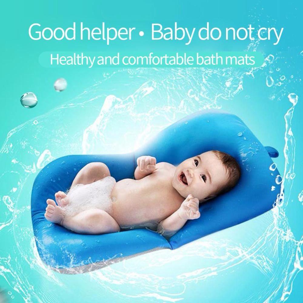2018 Newborn Baby Bathtub Pillow Toddler Infant Soft Seat Pad Tub ...