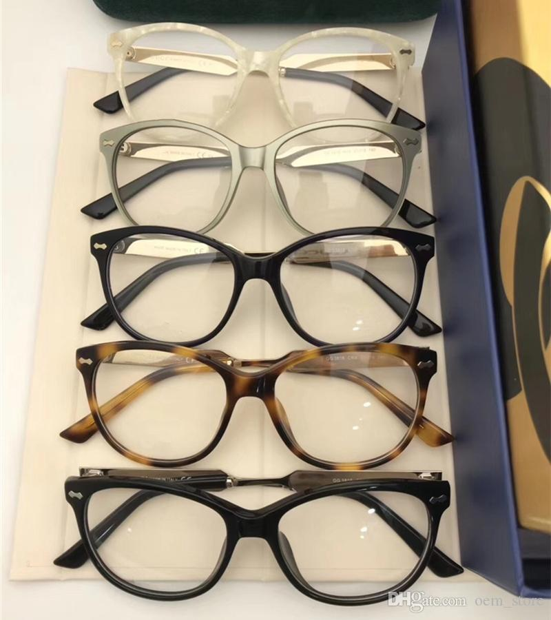 15a5582741e 2018 New Vintage Optical Eyewear Cat Eye Full Frame Fashion Glasses Lady  Luxury Myopia Sunglasses Big Frame Shortsight Glass With Package Cheap  Prescription ...