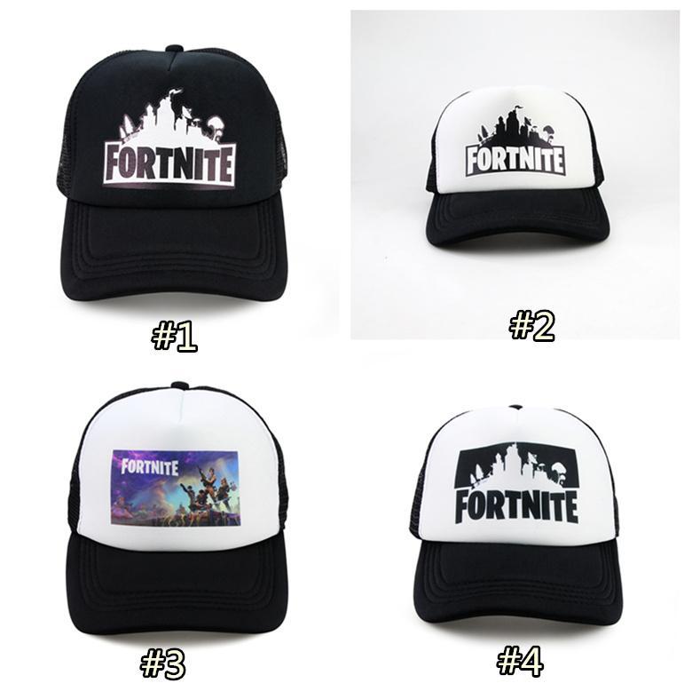 2019 Fortnite Trucker Cap Hat Game Fortnite Fans Cool Mesh Caps Summer  Baseball Net Trucker Caps Hat For Men Women LC935 1 From Kids top d323e13bdeba
