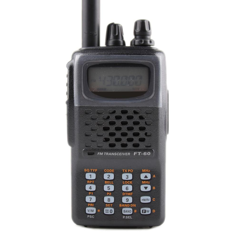 General para walkie talkie YAESU FT-60R de banda doble 137-174 / 420-470MHz FM Ham Transceptor de radio bidireccional yaesu FT60R radio