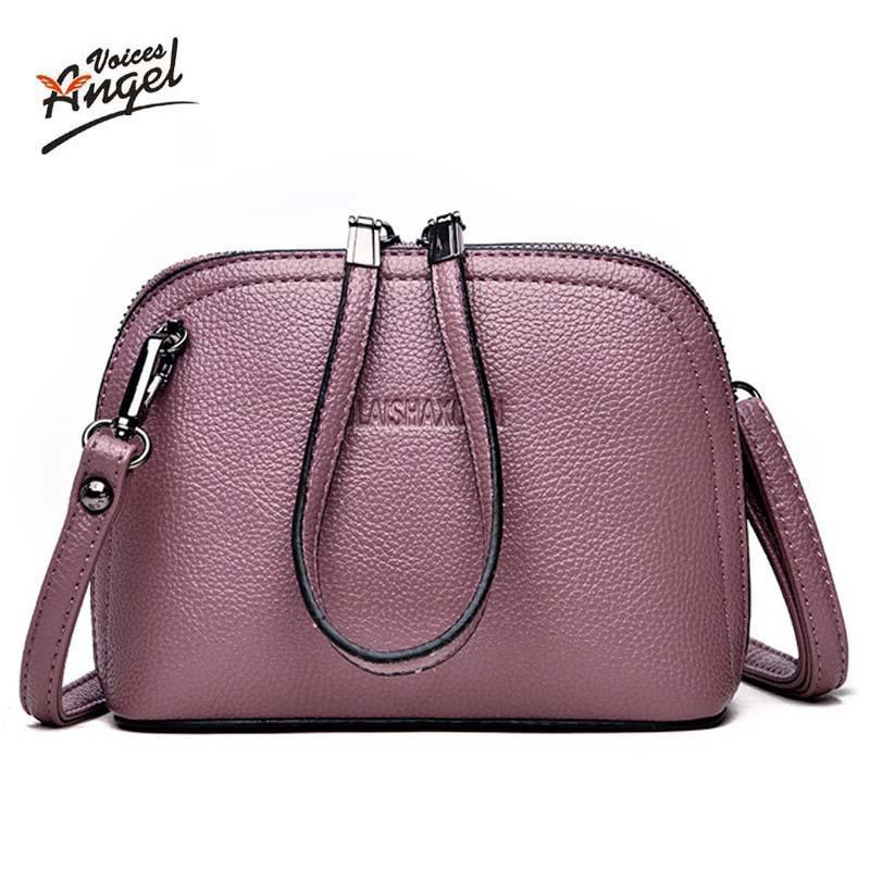 375716f1f74d Genuine Leather Mini Shoulder Bag Women Small Messenger Bag Female ...