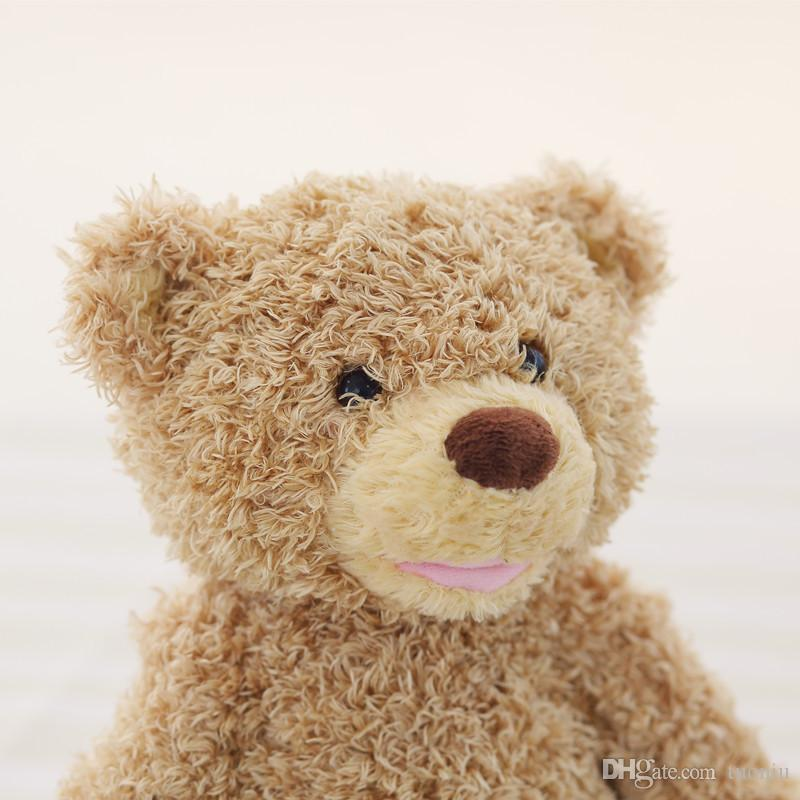 Nuovo Peek a Boo Teddy Bear Gioca a Hide And Seek Lovely Cartoon Farcito Teddy Bear Regalo di compleanno bambini Cute Music Bear Plush Toy