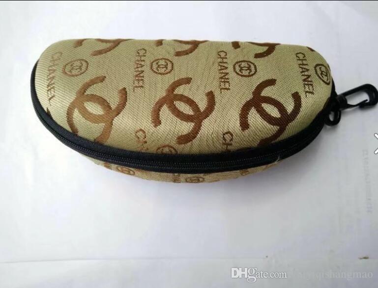 Wasserdichte Sonnenbrille Fall Sonnenbrille Fall Marke Snake Skin Luxus Soft Leder Brille Box Brillen Zubehör