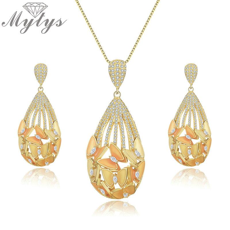 50660b9ff25b Mytys Asia Fashion Ethnic Palace Jewelry Sets for Women High Quality ...