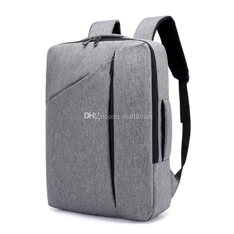 Men s Casual College Bags,Male Business Backpack,Nylon, Travel ... 82592752b4