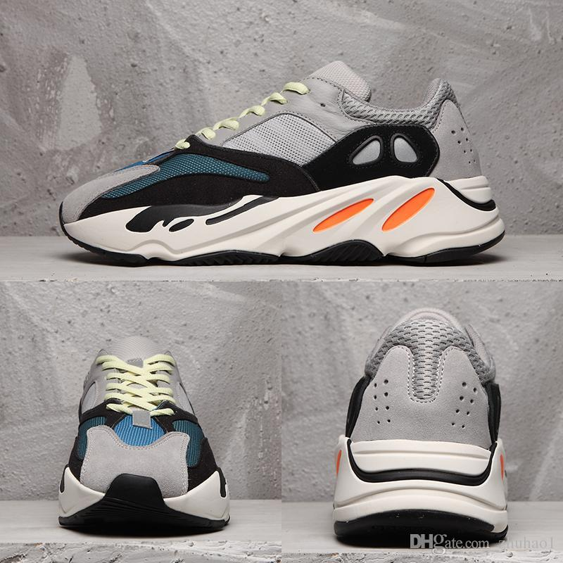 the latest 50535 702e7 2018 Stivali economici Scarpe sportive Kanye West Wave Runner 700 Scarpe da  corsa Scarpe da pallacanestro Moda donna da uomo Streetwear gratis