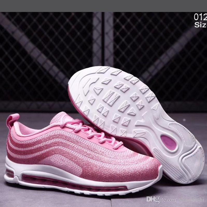 1734d23b731 Kids Air 97 LX Glitter Silver Pink Blue Black Baby Children Sneakers Boys  Girls Trainers Ul17 High Quality Sport Running Shoes Athletic Shoes For  Boys Girls ...