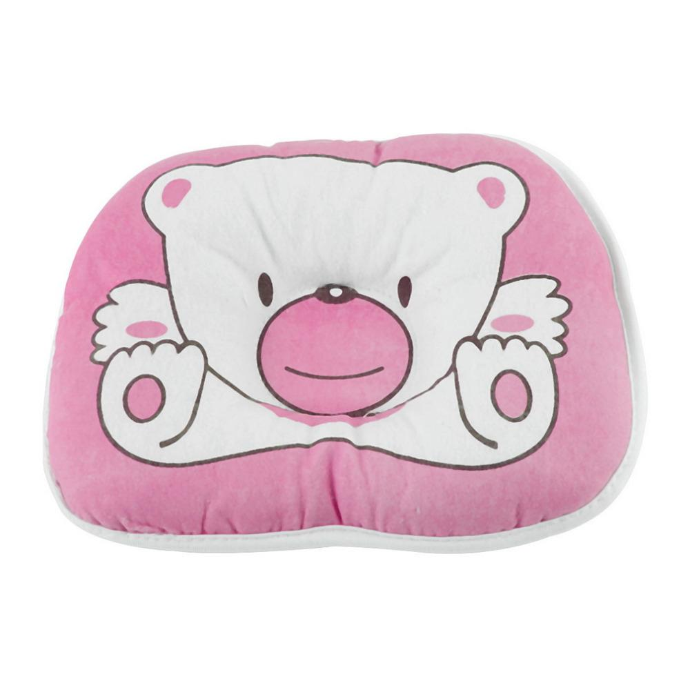 Bear Pattern Pillow Newborn Infant Baby Support Cushion Pad Prevent