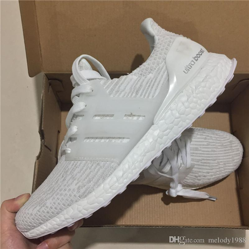 premium selection c4683 16bbc Acquista 2018 Nuova Adidas Originals Ultraboost 3.0 Ltd W 4.0 Sneakers X  Ultra Boost Scarpe Da Corsa Uomo Donna Alta Qualità Ultra Boost 3 Iii  Bianco Nero ...