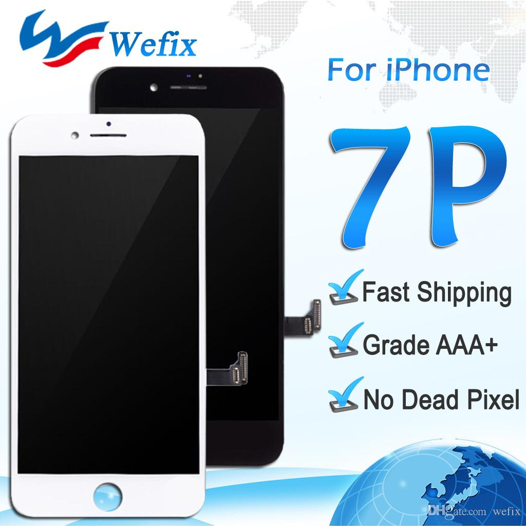 aebdd4743331 Grade A +++ LCD Display For Black And White IPhone 7 Plus Touch ...