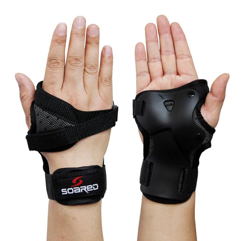 Skiing Hand Bracers Wrist Supports Skiing Skating Hand Guard Palm Protecor 1pair