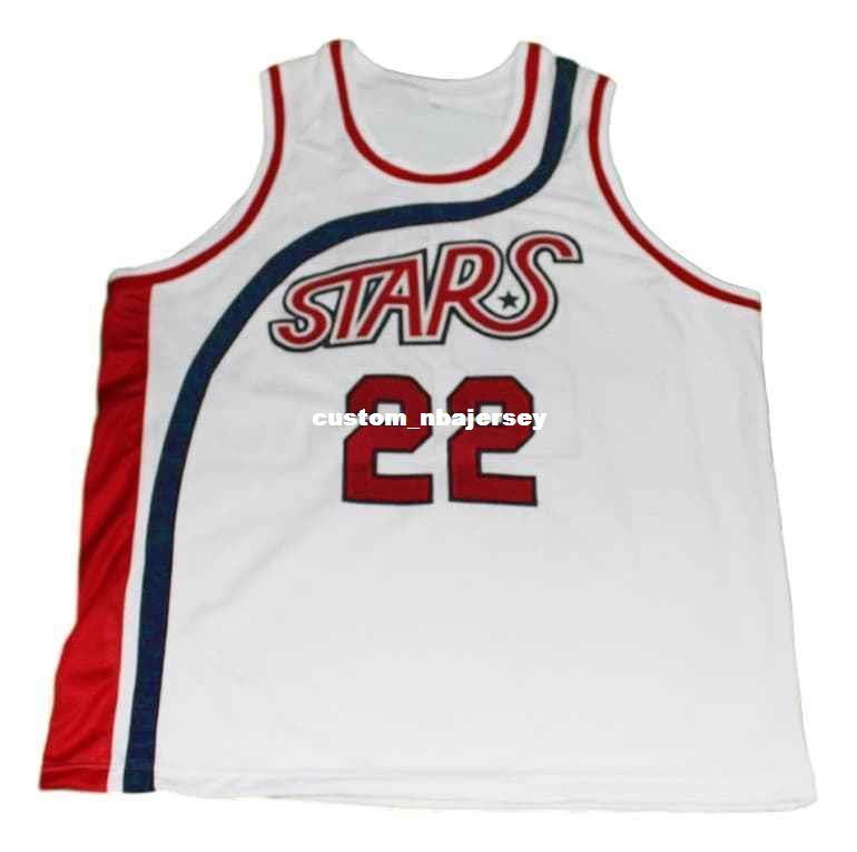 b70b38a32ca5 2019 Wholesale Moses Malone  22 New Basketball Jersey White Stitched Custom  Any Number Name MEN WOMEN YOUTH BASKETBALL JERSEYS From Custom nbajersey