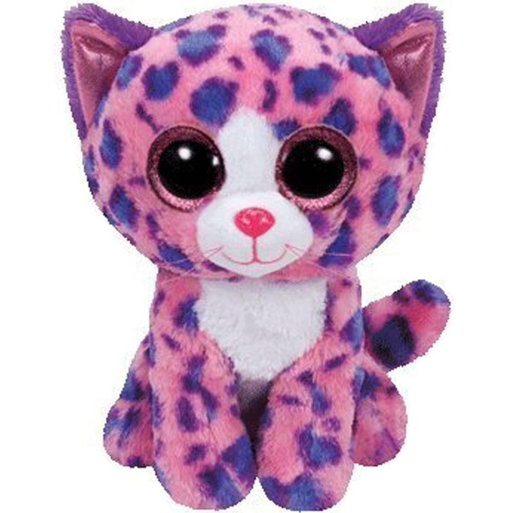 9defc73c309 2019 Pyoopeo Ty Beanie Boos 6 15cm Reagan The Leopard Plush Regular Soft  Big Eyed Stuffed Animal Collectible Doll Toy From Cassial