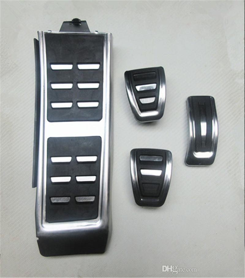 Auto Accessories Aluminium car pedals For A4 A4L A6 A7 A8 Q5 Gas Brakes Foot Pedal Accelerator pedal Car Styling Accessories