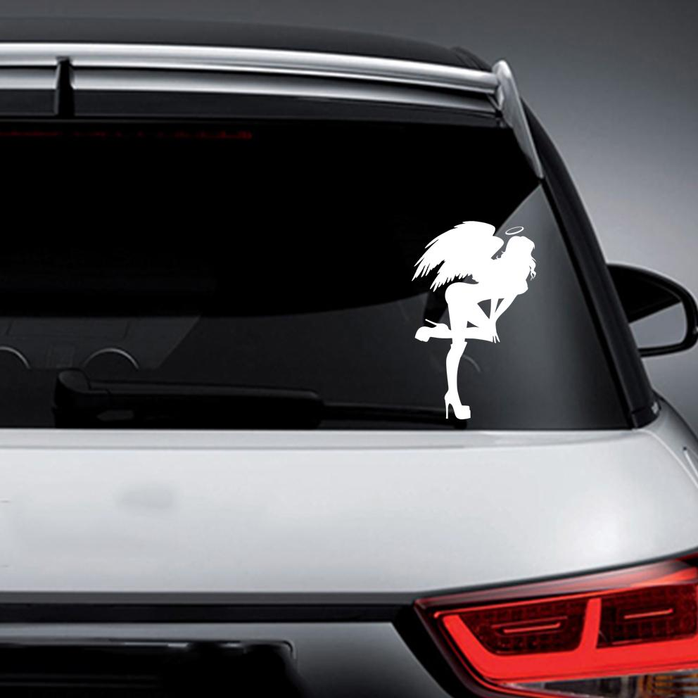 2019 decal vinyl truck car sticker sexy hot women girl adult pinup angel from xymy797 3 32 dhgate com