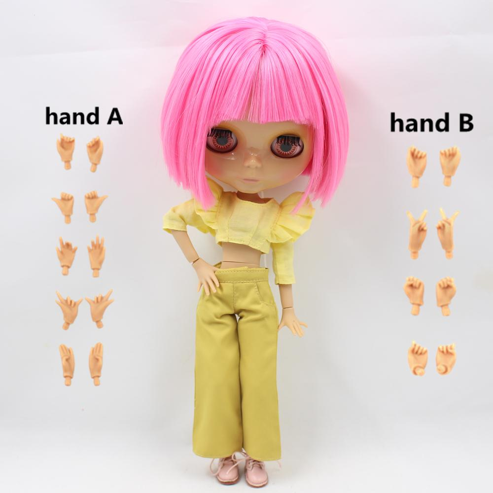 Wholesale Nude Blyth Doll Serires No.BL 2369 Pink Hair
