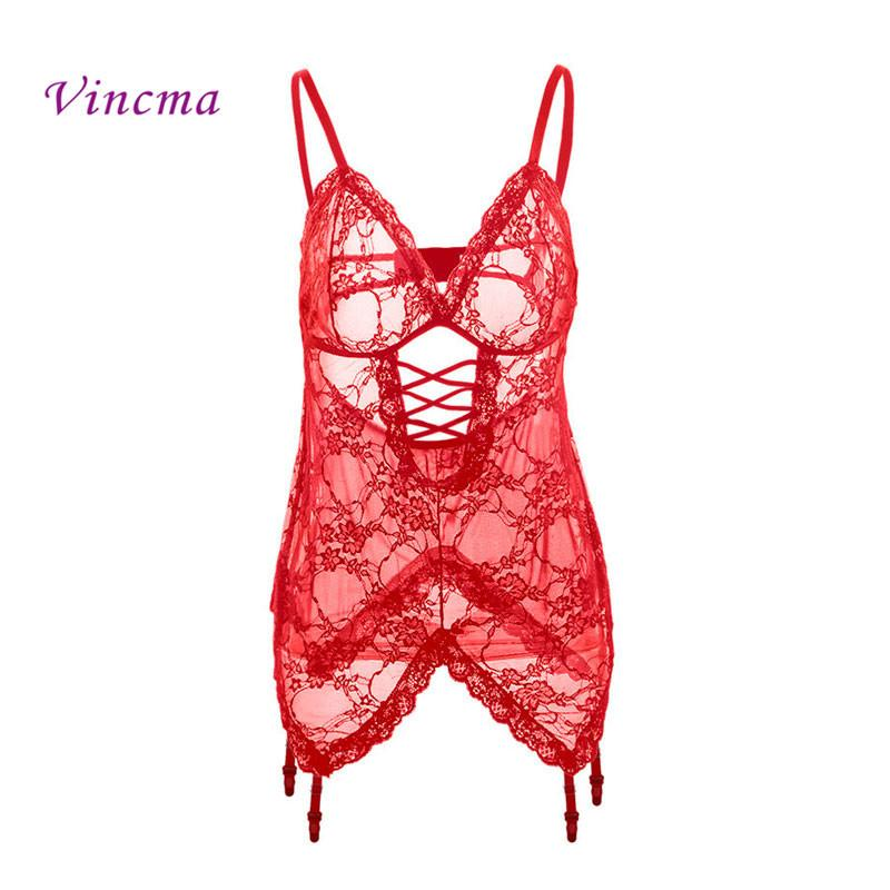 1b809ba966 S M L XL XXL 3XL 4XL 5XL 6XL Erotic Underwear Women Plus Size Sexy Lingerie  Hot Sex Babydolls Porno Costumes With Garter S918