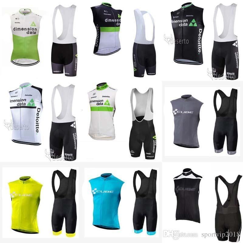 63705515f 2018 CUBE DIMENSION DATA Cycling Jersey Summer Mtb Bike Clothing ...
