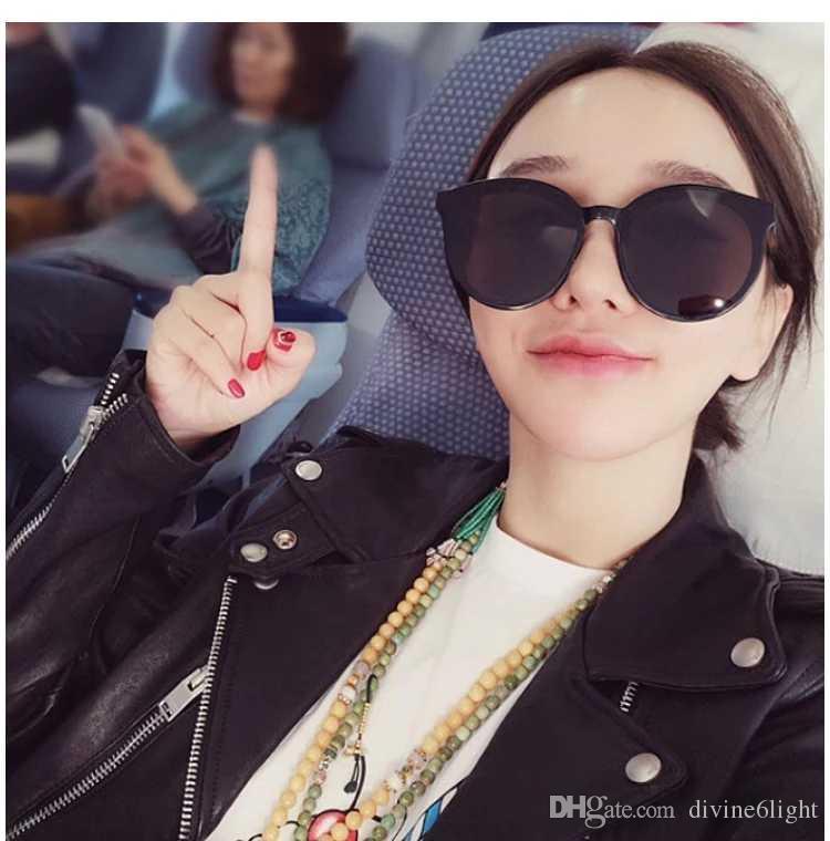 a0fdf8f46358 Without Makeup Large-frame Harajuku Eyeglasses Women Korean Version ...