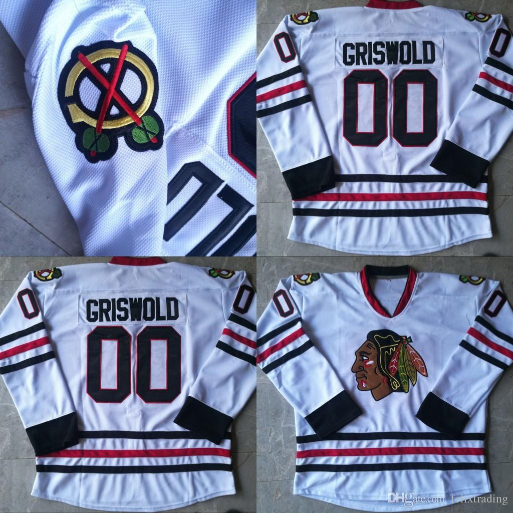 2019 Clark Griswold  00 Christmas Vacation Movie Hockey Jerseys All  Stitched Mens White Clark Griswold Jersey From Felixtrading a9537e94c