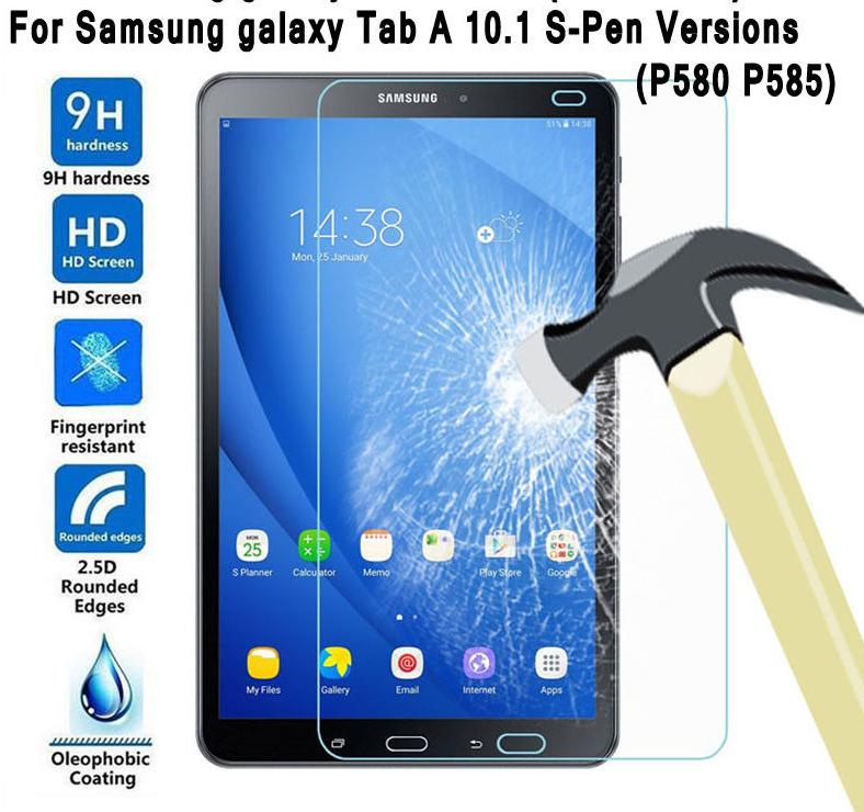 dc278d2c5 2019 For Galaxy Tab A 10.1 SM P585 M P580 P585M 10 2016 With S Pen 4G LTE  Tempered Glass Screen Protector Protective Film From Pastry