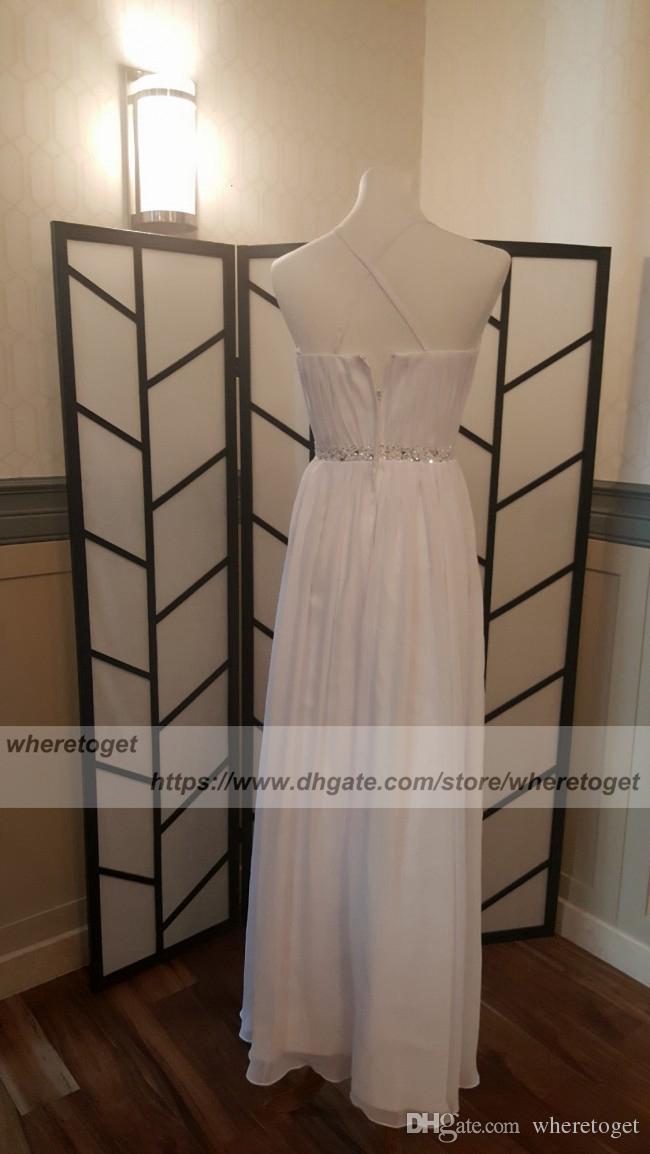 2018 Summer Beach Sexy Simple backless Wedding Dresses beaded waist Sexy side slit Boho bohemian criss cross spaghetti straps Bridal gowns