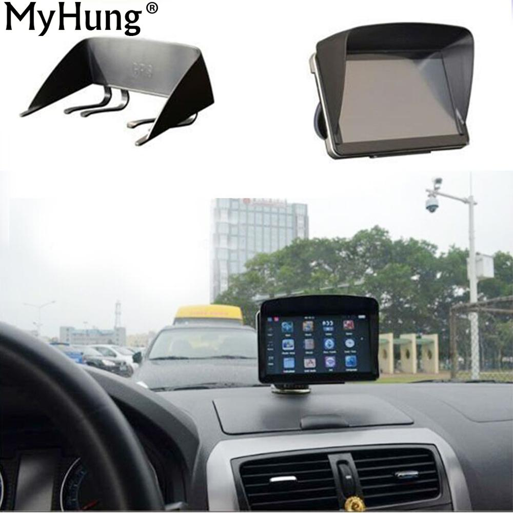 36af0df42ed 2019 7 Inch Navigation Sunshade Gps Navigation Sun Shade Hood Sun Hats  Navigator Accessories GPS Screen Visor Hood Block From Baixiangguo