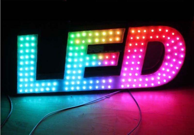 RGB WS2811 IC LED pixel módulo luzes 12mm ip65 ip65 luzes impermeável luzes dc 5v string Natal luz endereçável para letras sinal anuncie