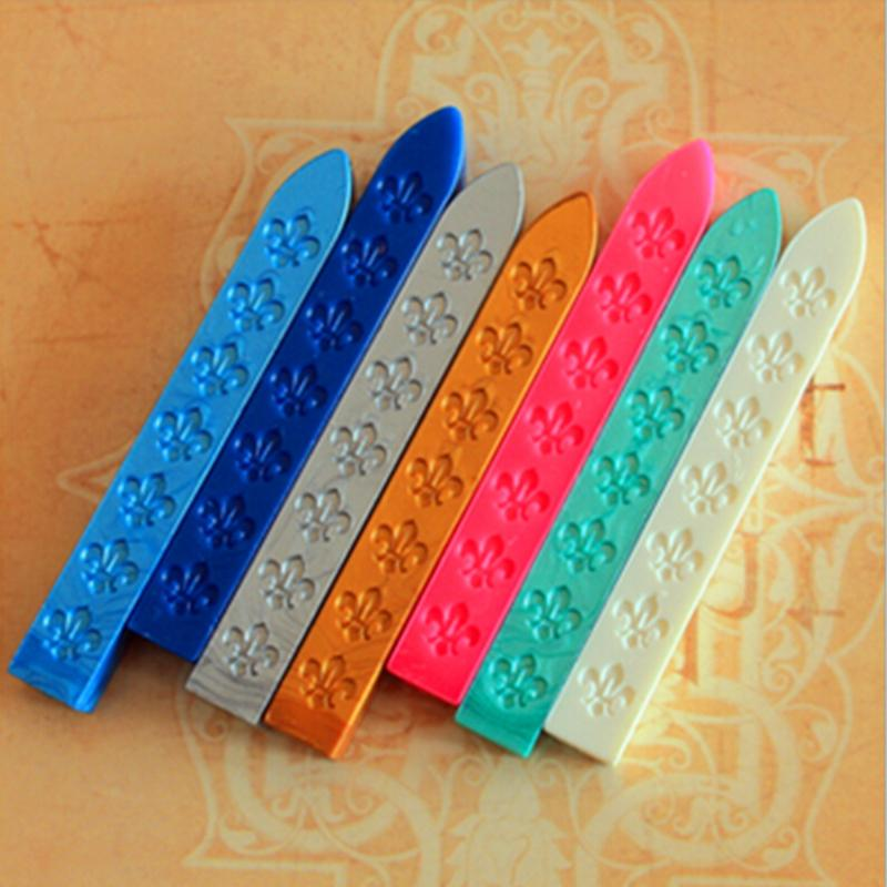 Top Fashion 5Pcs/Lot Stamps for Scrapbooking Box free Shipping Retro Wax Sealing Wax, Seal Accessories, Supplies And School 6