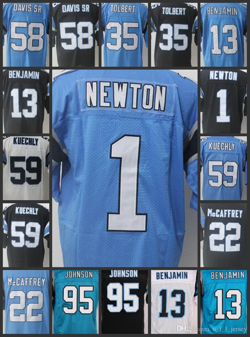 c61ca471e ... best price men carolina panthers 58 thomas davis women jerseys 95  charles johnson 13 kelvin benjamin