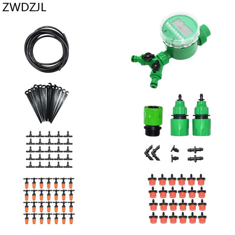 2019 Automatic Irrigation System 2 Way Watering Kit Diy Automatic