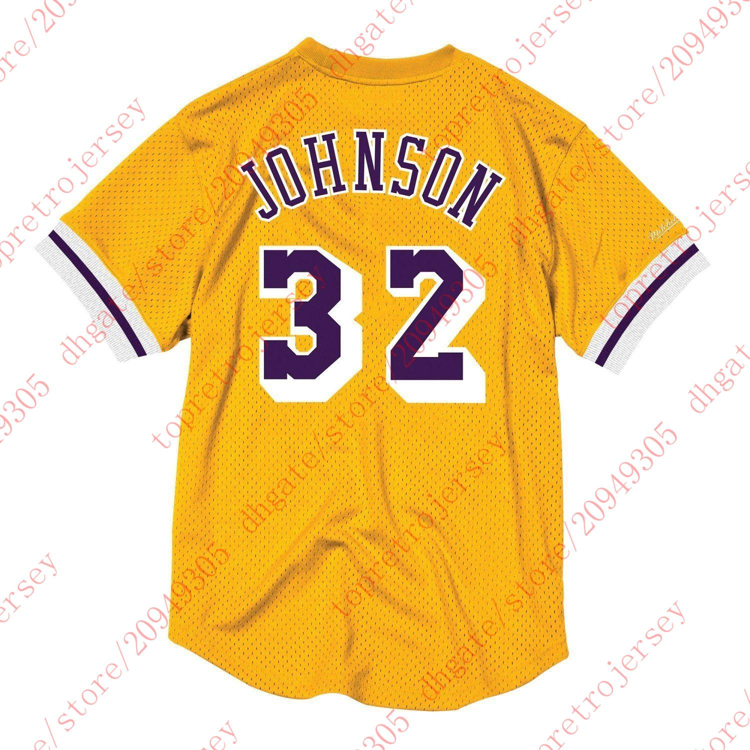 Cheap Throwbacks Top  32 Johnson Mitchell   Ness Custom Mesh Jersey ... 511a86370