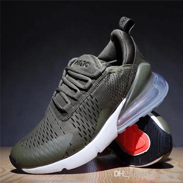 (with box)2018 Black White 270 Running Shoes Teal for Men Women 27c Training Sneakers Walking Sport Fashion Sneaker size Eur 36-45