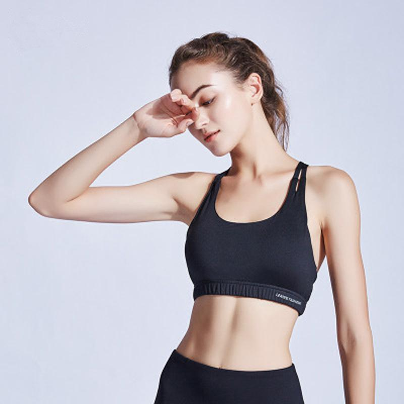 04a60517e8 2019 Sexy Sports Bra Running Fitness Athletic Vest Popular Sport Bra Hollow  Out Yoga Top Push Up Female Underwear From Xuelianguo