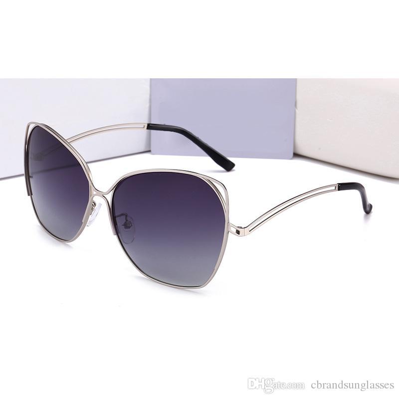 54e2252cff 2018 Luxury Brand Design Oversized Frame Polarized Sunglasses for ...