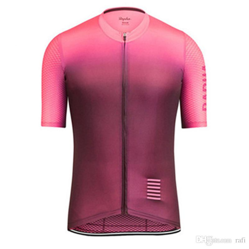 2018 New Rapha Cycling Jerseys Short Sleeves Summer Cycling Shirts Cycling  Clothes Bike Wear Comfortable Breathable Good Item Online with  19.18 Piece  on ... 6619acf2f