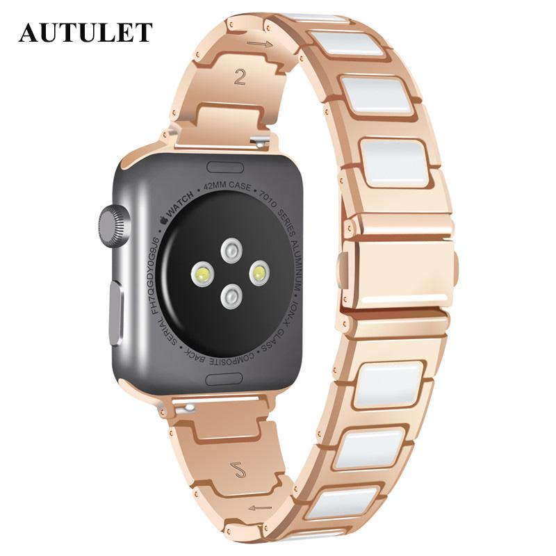 f683525ffde Alibaba Express Best Series I Apple Watch Bands Silver Color Waterproof Watch  Straps 18mm Width Cheap Price For US