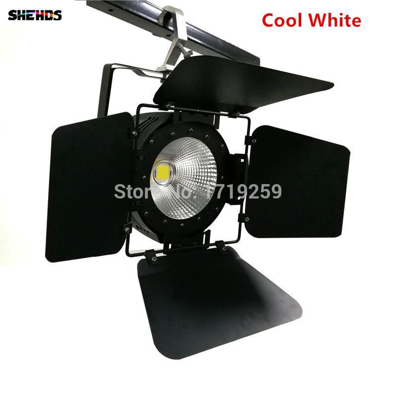 LED Par Light COB 100 Вт с дверями сарая Алюминий высокой мощности холодный белый и теплый белый эффект стирки с эффектом стирки
