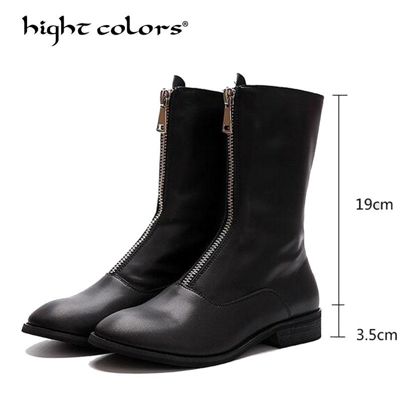 84fd8ba75db Plus Size 35 39 Fashion Women Riding Boots Keep Warm Comfortable Winter Snow  Boots Down Waterproof Ladies Mid Calf CKY359 Mens Chelsea Boots Black  Combat ...