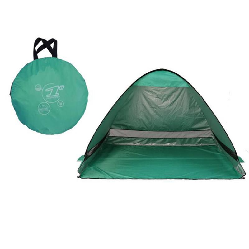 Fishing Beach Travel Lawn Free Build Tents Outdoors UV Protection SPF 50+  Tent Single Layer 50pcs