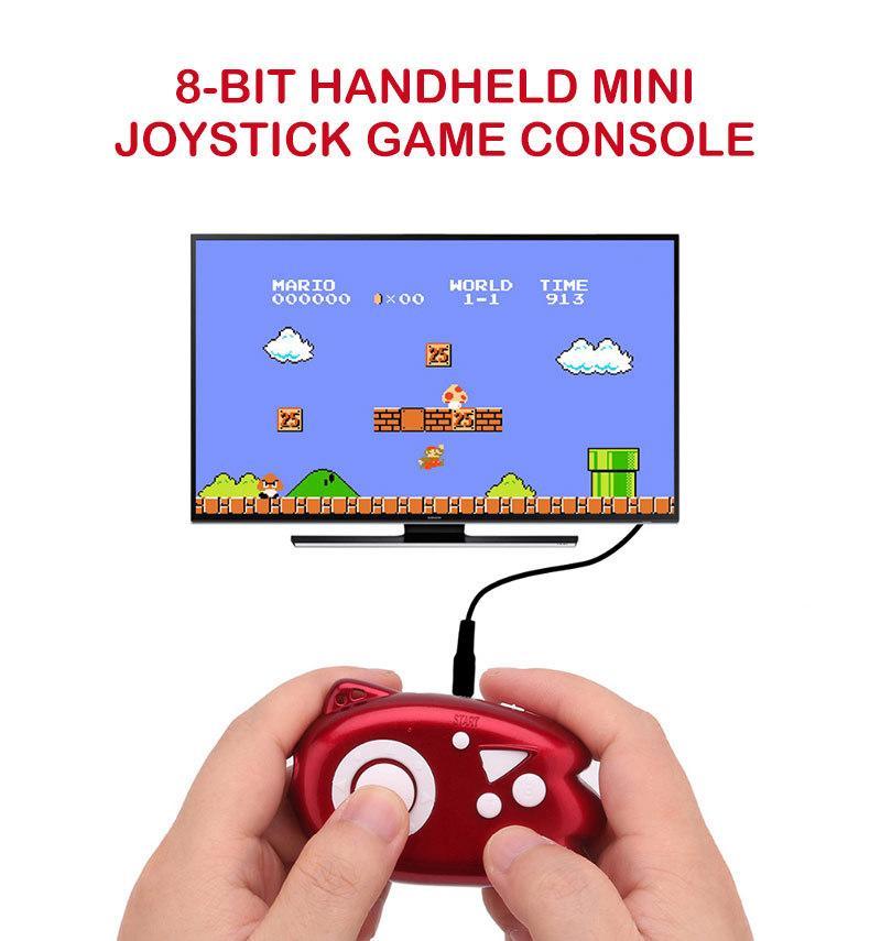 Mini Console de Videogame Jogadores Construir Em Jogos Clássicos Suporte de Saída de TV PlugPlay Game Player Melhor Presente para o Miúdo