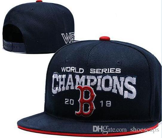 ba5606d94fd Wholesale Price 2018 World Series Champions Red Sox Adjustable Hat ...