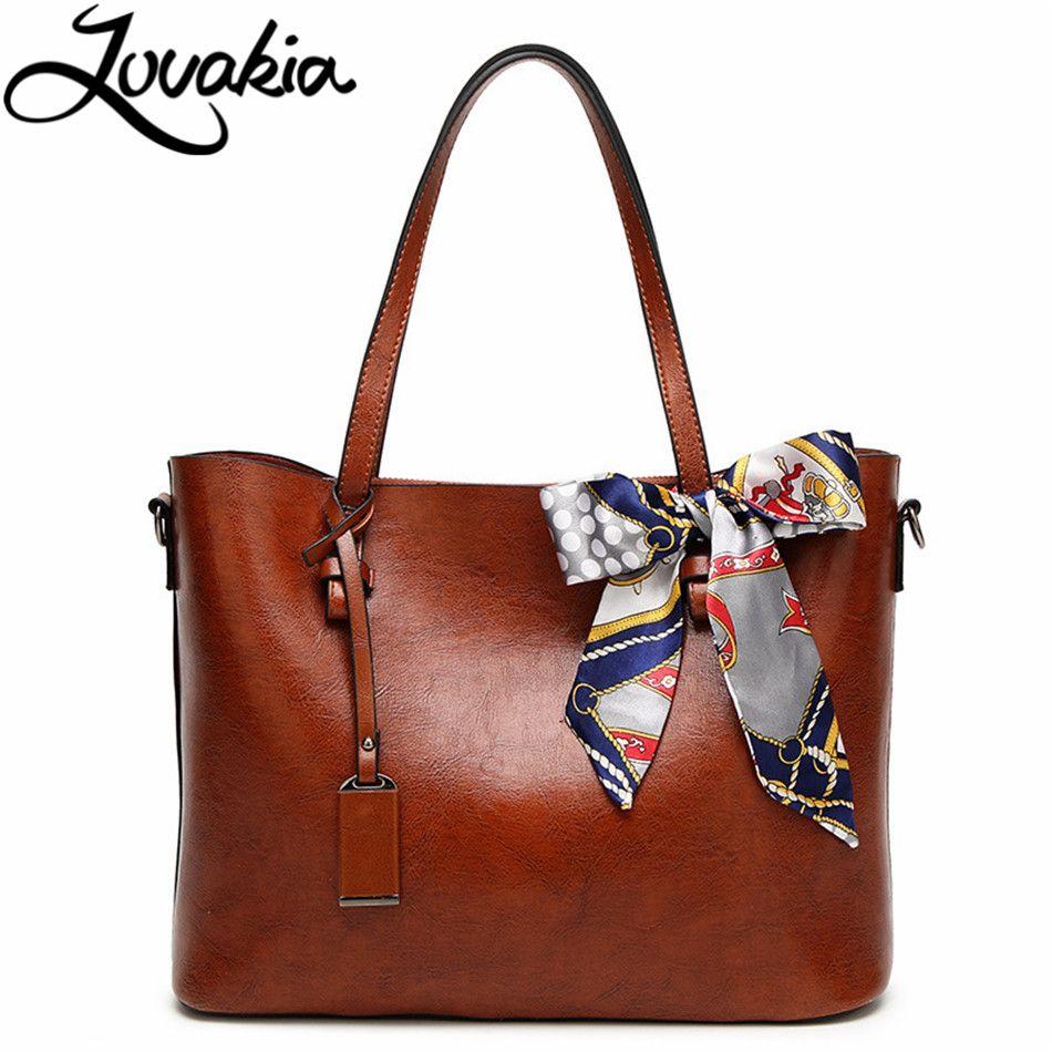 64256f7823 LOVAKIA Leather Handbags Big Women Bag High Quality Casual Female Bags  Trunk Tote Spanish Brand Shoulder Bag Ladies Large Bolsos Ladies Bags  Backpack Purse ...
