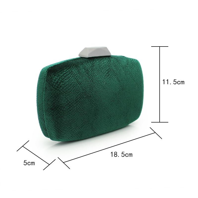 lebendige frische grüne Farben Frauen Tasche Mode Geldbeutel Damen Abendtasche neue Ankunft Parteigeldbeutel Frauen Handtaschen Match Schuhe 935