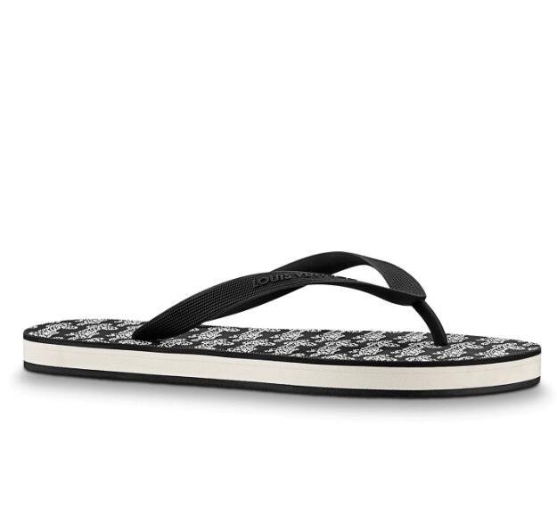 5345a5270 1A3UFR MOLITOR THONG NEW BLACK WHITE FASHION flip flops Men Casual Handmade  Walking Tennis Sandals Slippers Mules Slides Thongs