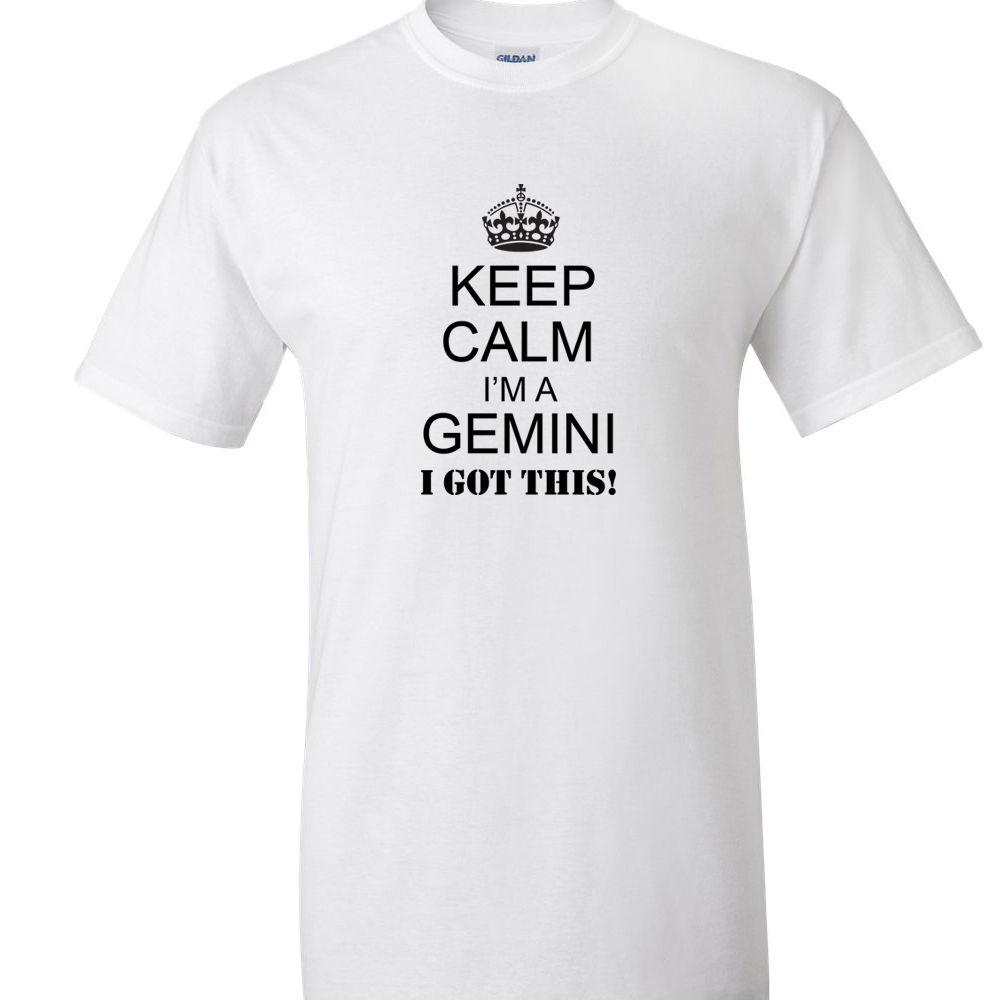 5e04f1c9b Keep Calm I'M A GEMINI T Shirt Zodiac Sign Tee From Fat Duck Tees ...