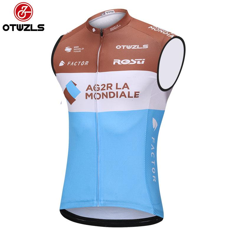 d56a8db7f 2018 Cycling Jerset Sleeveless Vest Pro Team MTB Cycle Clothing ...