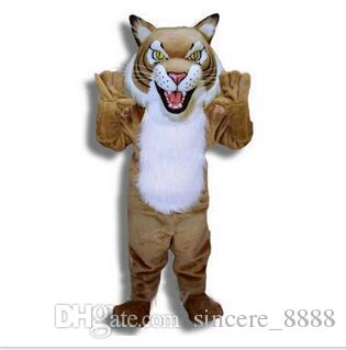 Hot on the sale of tiger Mascot Costume Adult Size Cartoon Character Carnival Party Outfit Suit Fancy Dress